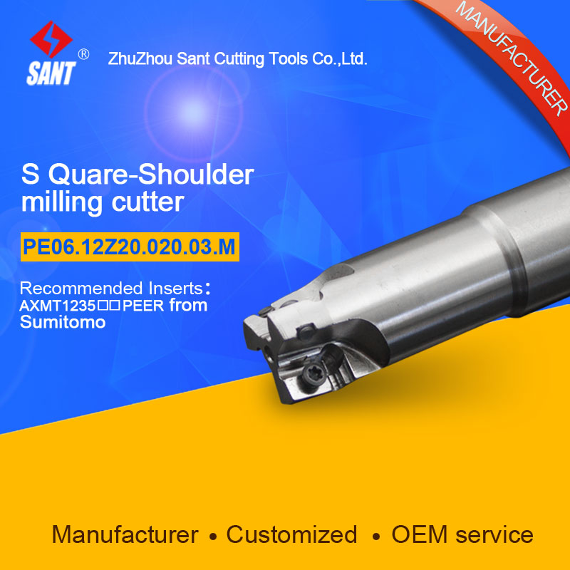 Customized size Square Should Milling Cutter Kr 90 PE06.12Z20.020.03.M, with APKT1705PER insert  цены