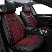 Ynooh car seat covers for nissan qashqai j10 note almera n16 juke patrol y61 leaf micra x trail t31 covers for vehicle seat