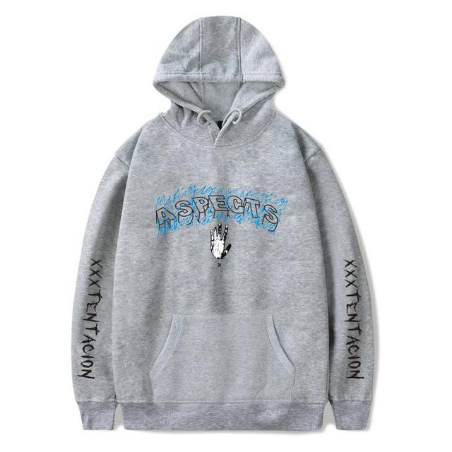 Revenge Kill Hip Hop XXXTentacion Fashion Hoodies Men/Women Casual Sweatshirt Vibes Forever Tracksuit Fleece Pullover Sweatshirt