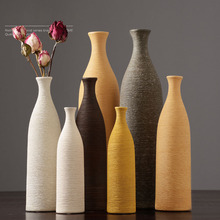 European style colorful Ceramic Vase creative tabletop Wedding Gifts office Home decor Handicraft Furnishing Articles