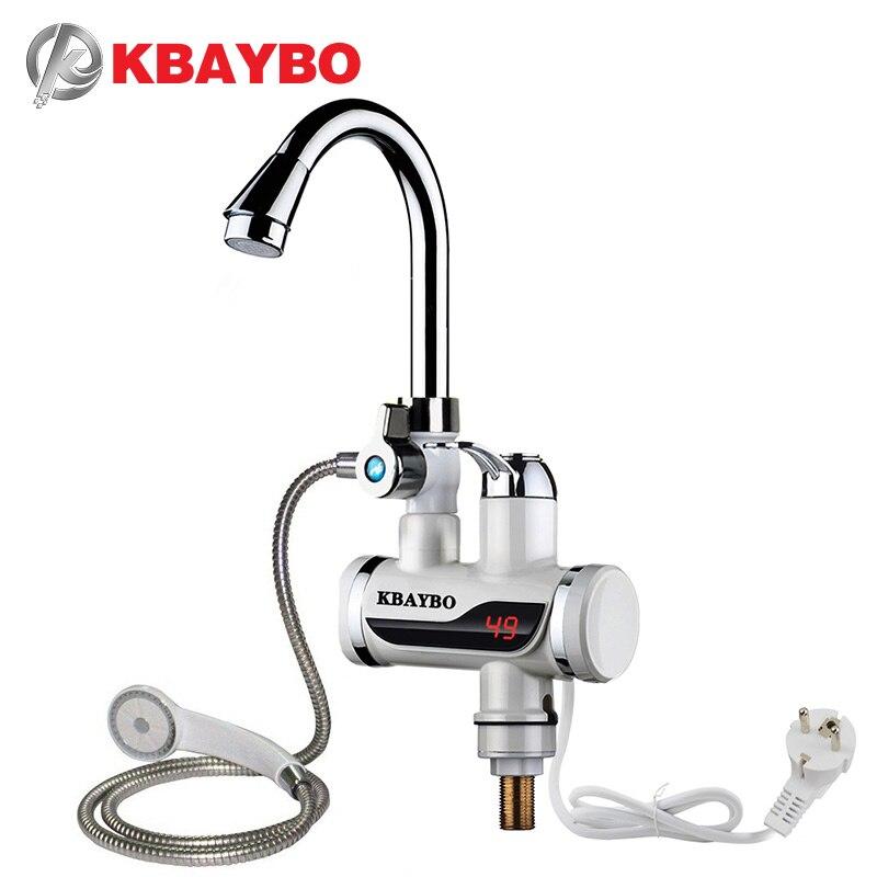 3000 w chuveiro elétrico instantâneo aquecedor de água instantâneo torneira quente da cozinha aquecedor de água aquecimento elétrico instantâneo