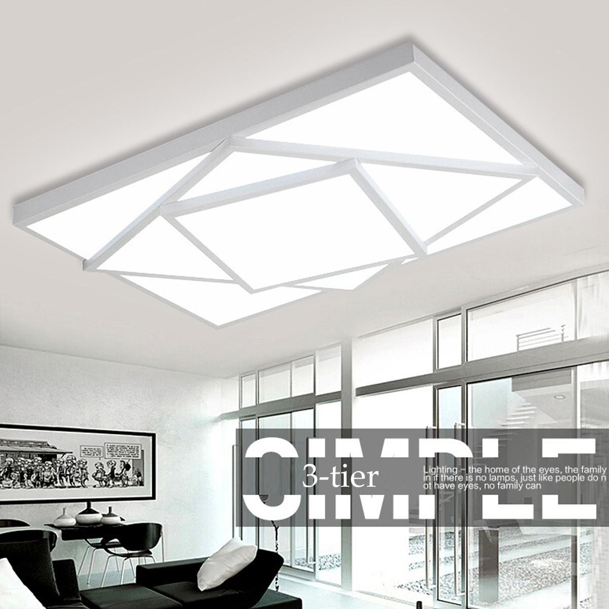 Deckenleuchten DemüTigen 24/30 Watt Warm/weiß Licht Acryl Nordic Decke Lichter Platz Led Decke Lampe Leuchten Für Wohnzimmer Esszimmer Licht & Beleuchtung