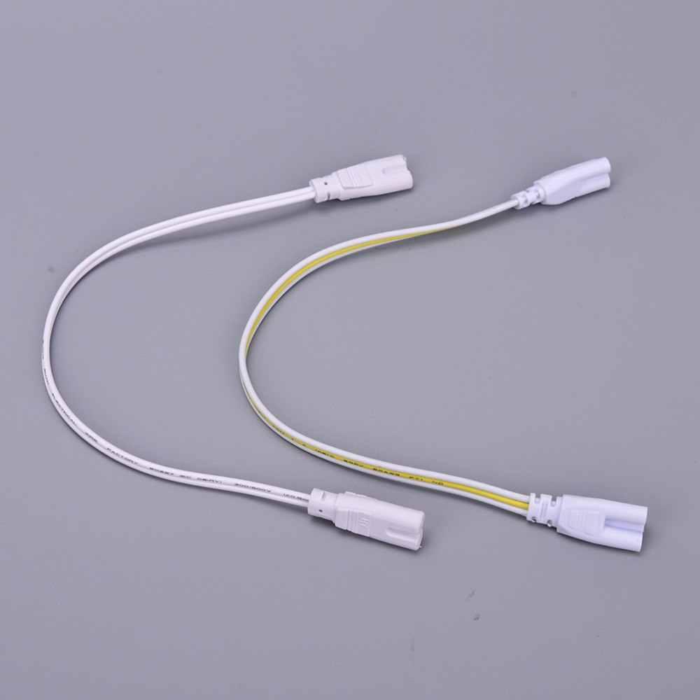 HOT bán 3 pin Double-end Cáp Dây Nối Ống DẪN 30 cm Hai-giai đoạn Ba-giai đoạn t4 T5 T8 Đèn Led Chiếu Sáng Đèn Kết Nối