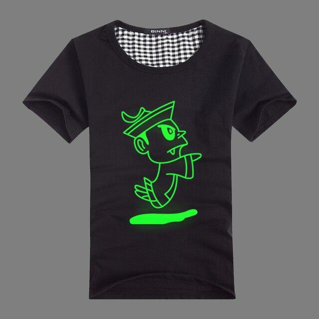 Luminous 2013 luminous t-shirt hip-hop T-shirt male short-sleeve