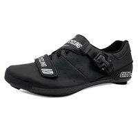C1 cidade sapatos de ciclismo calor moldável 3 k fibra carbono bicicleta estrada tênis fivela sapatos termoplásticos|Sapatos de ciclismo| |  -