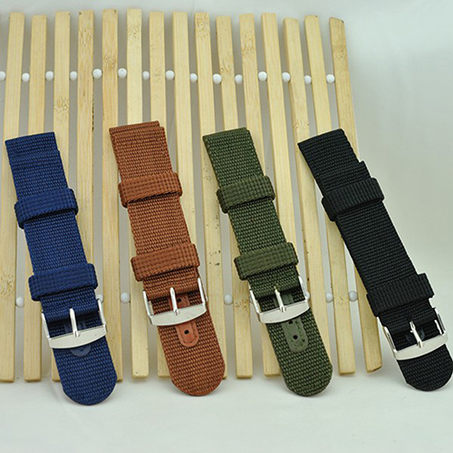 купить Military Army Nylon Wrist Watch Band 18mm 20mm 22mm 24mm Replacement Strap по цене 46.64 рублей