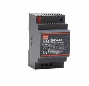 Image 2 - בצורה חלקה מתכוון גם KNX 20E 640 19.2W 30V 640mA meanwell KNX 20E 180 264VAC החלפת ספקי כוח