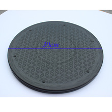 30cm Plastic Pottery Wheels Clay Sculpture Rotary Turnplate Platform Heavy Duty Rotating Swivel Turntable Lazy Susans Black hq hd01 heavy duty strong aluminium alloy and abs plastic lazy susan turntable dining table swivel plate for heavy wood table
