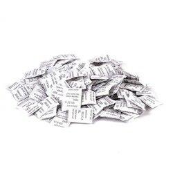 100 Packs 1g Dessecante Sílica Gel Não-Tóxico Cozinha Quarto Sala Desumidificador Umidade Absorvedor de Umidade Para Casa Acessórios