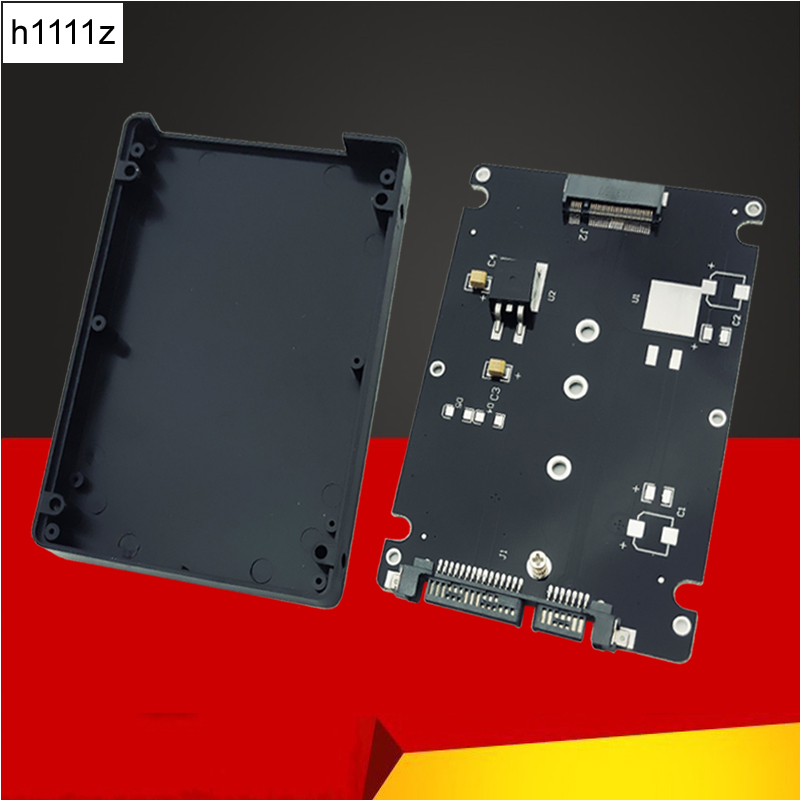 H1111Z Add On Cards SATA M.2 Adapter NGFF M.2 To SATA Adapter M.2 SSD Adapter 2.5