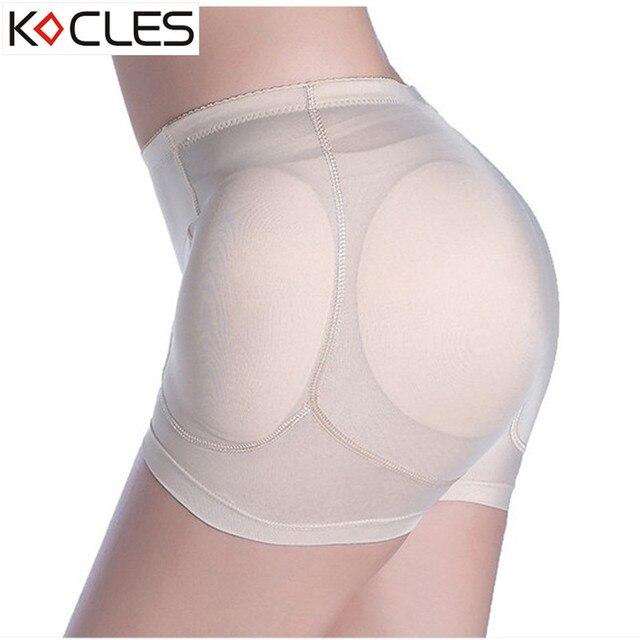 92b50178e107 Butt Lifter Women 4pcs Pads Enhancers Shapers Slimming Body Shaper Control  Panties Removable Inserts Sponge Padded