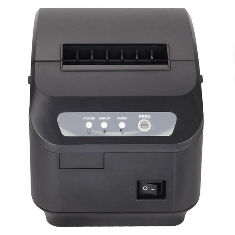 Milestone receipt printer bill Q200II 80MM small bill thermal printer supermarket cashier kitchen printer with cutter
