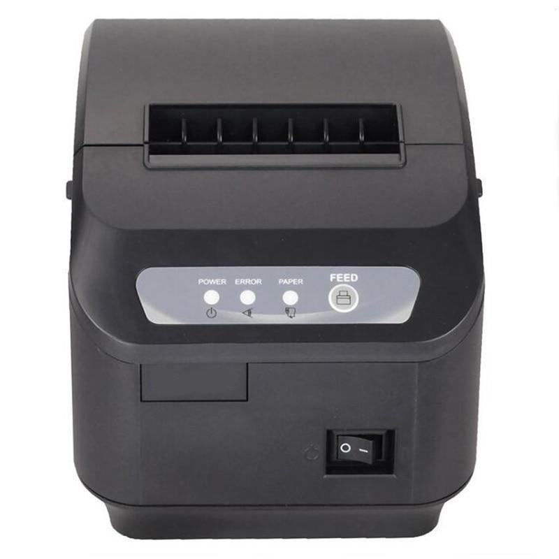 Milestone receipt printer bill Q200II 80MM small bill thermal printer supermarket cashier kitchen printer with cutter