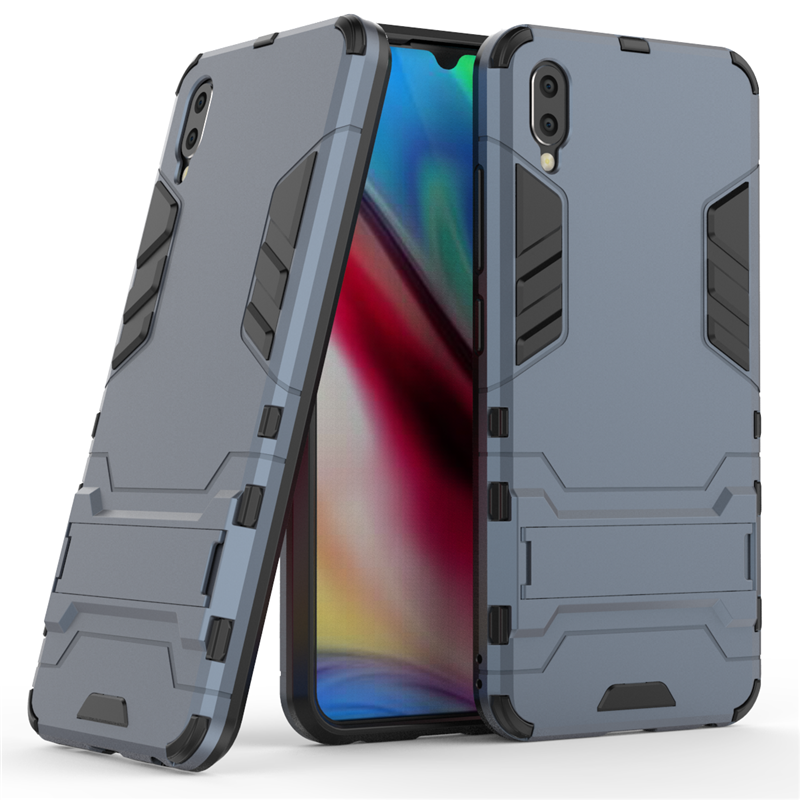 LDCRE For Vivo Y93s Case Luxury Robot Hard Back 6.2 inch Phone Case For Vivo Y93S Y93 Back Cover For Vivo Y93 Coque Fundas