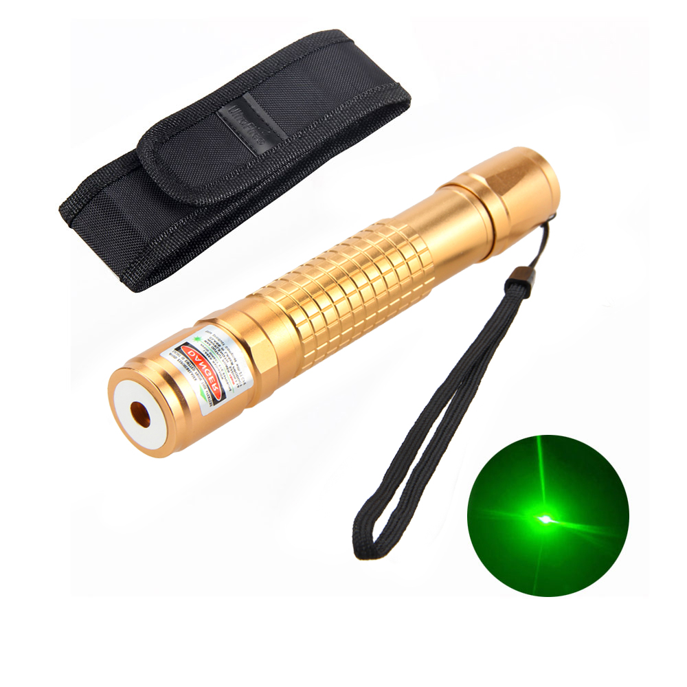 10Miles Powerful 2in1 Green Laser Pointer Pen 532nm Star Cap teaching and outdoor using