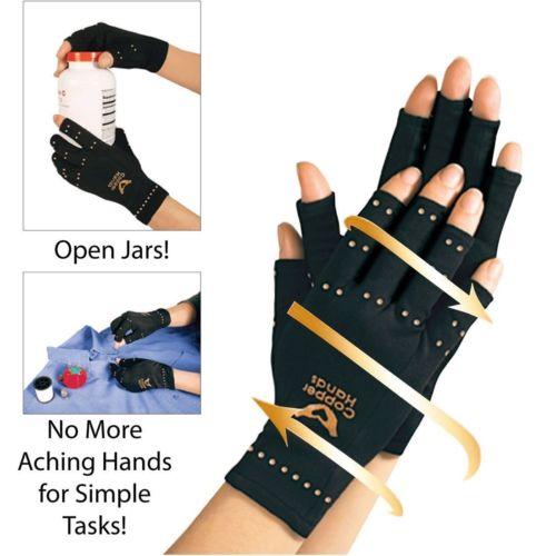 Copper Compression Therapy Hand Gloves 1