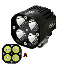 2pcs 40W Bright U3 LED Driving Work Spot Light for Harley Honda Yamaha Kawasaki Suzuki Cruiser dual sport ATV Custom