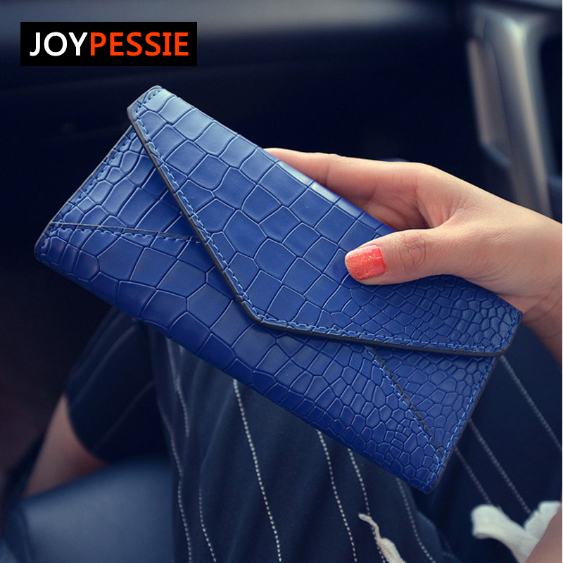 JOYPESSIE Stone Fashion Women Wallets Solid Color Wallet ID Card Holder Coin Purse Pockets Girls Clutch Hot Women Wallets