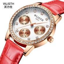 2019 Top Brand Korean Version Simple Ladies Watch Fashion Leather Belt Waterproof Trend Student Women's Watch цена