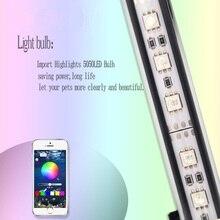 hot deal buy 29cm rgb led lamp for aquarium led lighting marine led light for aquarium lamp plant fish tank light waterproof aquarium lights