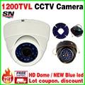 O envio gratuito de Câmera de Segurança 1/3 cmos 1200TVL CCTV ahdl Câmera HD de Visão Noturna 30 m IR-cut Home Indoor DOME De Vigilância Por Vídeo