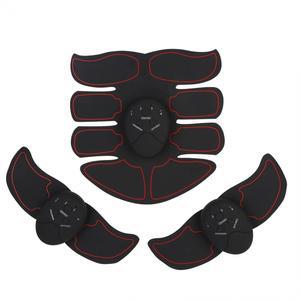 Image 2 - Vet Brander Spierstimulator Apparaat Ems Intelligente Buik Abs Training Massager Body Building Patch Buikspieroefening Machine