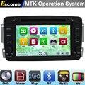 MTK3360 Automotivo DVD Del Coche Para Mercedes Benz Clase C W203 S203 2000-2005 C209 W209 CLK con Bluetooth Radio de Navegación GPS