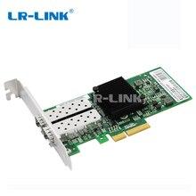 LR LINK 9712HF 2SFP כפולה יציאת Gigabit Ethernet סיבים אופטי lan רשת כרטיס 1 Gb PCI E רשת מתאם Intel I350 F2 תואם