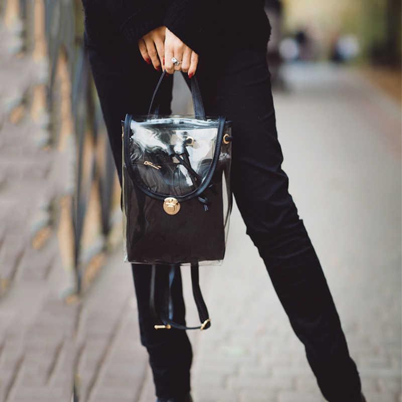 Новые яркие цвета рюкзаки водонепроницаемые ПВХ композитные школьные сумки прозрачный Spacer рюкзак голографический Gammaray голограмма Радужный