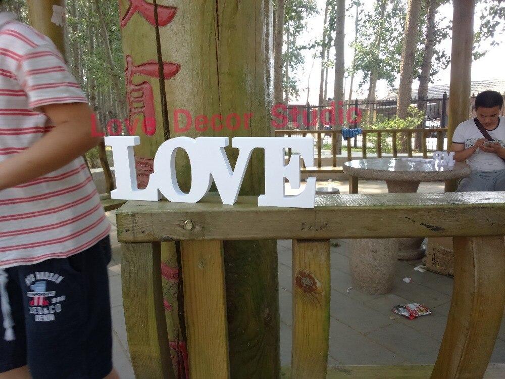 ₩Madera pvc cartas de amor pintado a mano en recuperada con ...
