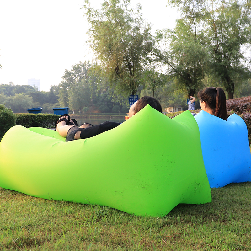 2019 Best Design Inflatable Lounger Air Chair Sofa Bed