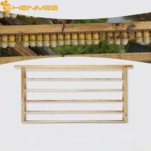 Пчеловодство, предназначенный для пчеловодства, каркасный инструмент, 48,8*22,5 см, коричневый, однорядный, из дерева