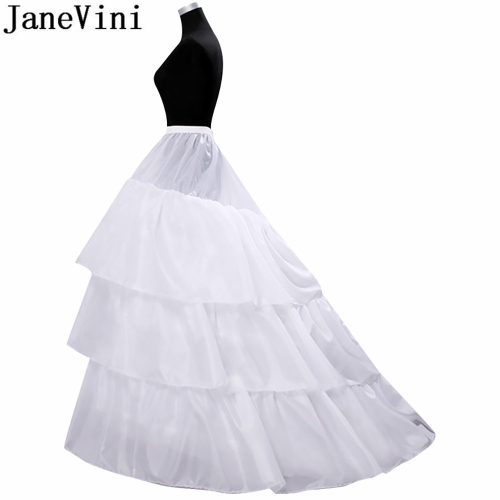 La Estrella De Mar Enaguas Para El Vestido De Boda New 2hoops 2 Layer Fabric Ruffle A Line White Petticoat Woman Long Jupon With The Best Service Wedding Accessories Back To Search Resultsweddings & Events
