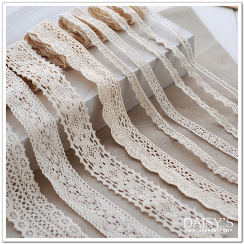 ᐃ12 meters100 % algodón Encaje para la tela/la urdimbre del ...