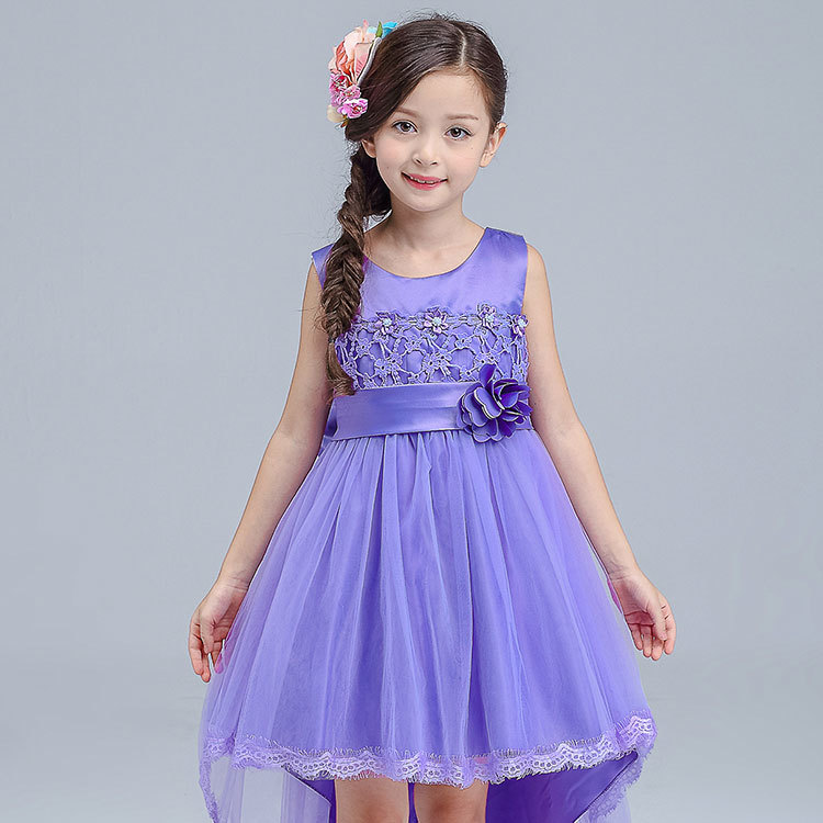 Goods In Stock Girl Tailing Full Dress Performance Flower Girl Host Show Thick And Disorderly Princess  Vest. TS21.32.