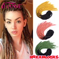 Ombre Synthetic Braiding Hair 20 Inch Hot Afro Hair Style Hollow Crochet Dreadlock Extensions Ombre Freetress crochet braid