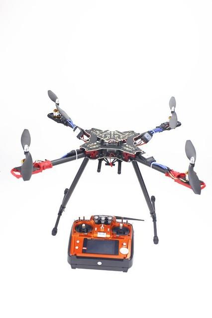 JMT F11066-A Rack Dobrável RC Quadcopter RTF com QQ AT10 Transmissor de Controle de Vôo ESC Hélice Do Motor (NENHUM Carregador de Bateria)