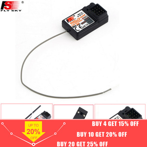 Flysky FS-GR3E 3 Channel 2.4G GR3E Receiver with Failsafe GT3B GR3C Upgrade waterproof for RC Car Truck Boat GT3 GT2 Transmitter(China)