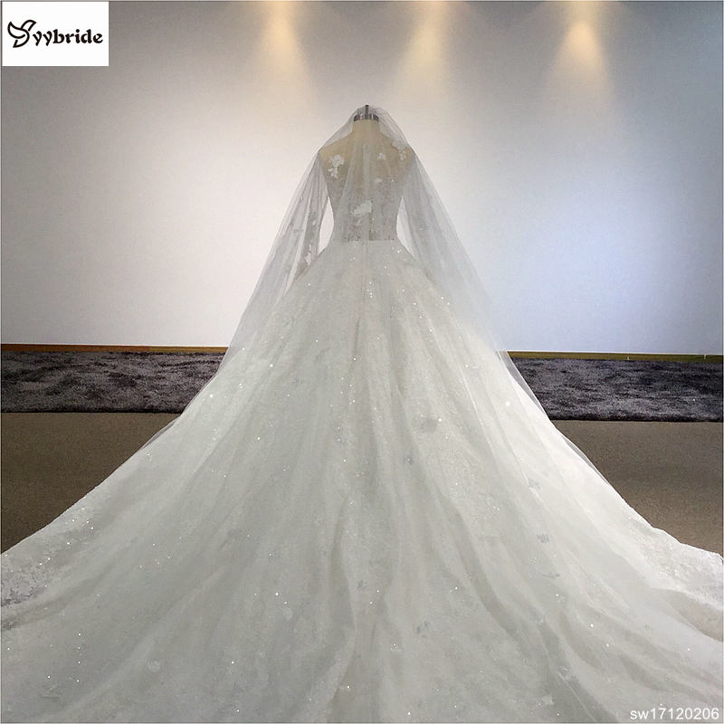 sw17120206-10 surmount custom made royal train wedding dresses 2018 ball gown long sleeves robe de soiree long robe de mariage wedding dresses Surmount Custom Made Royal Train Wedding Dresses 2018 Ball Gown Long Sleeves robe de soiree Long robe de mariage Wedding dresses HTB1nNd5gcnI8KJjSspeq6AwIpXaj