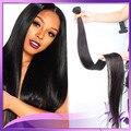 Barato cambojano cabelo humano real tece bundles 20 22 24 polegada produtos europeus virgem reta double desenhado