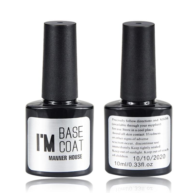 Manner house 10ml base coat big volume professional nail - Base coat nail salon ...