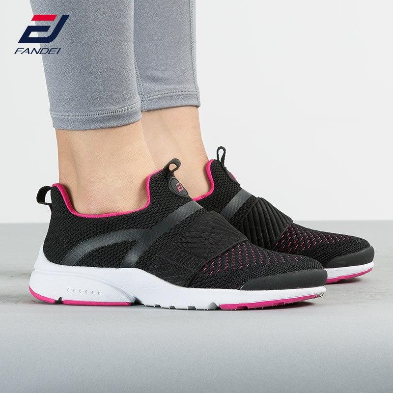 FANDEI 2018 Running Shoes Women And Men Slip On Women Sneakers Breathable Women Sport Shoes AIR PRESTO Walking Jogging Shoes