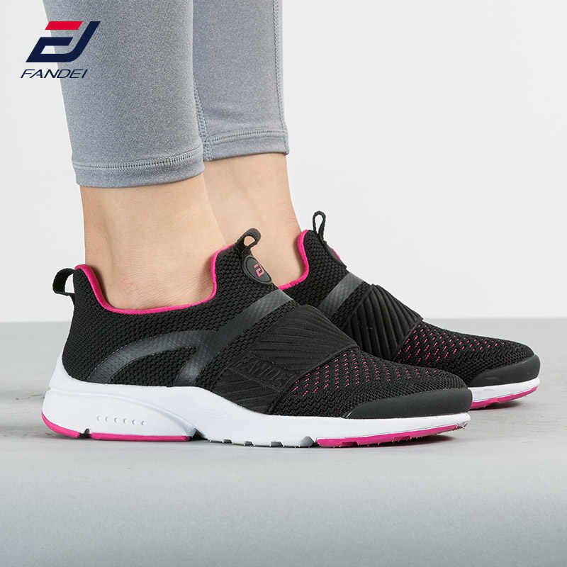 eb17b85d0 FANDEI 2018 Running Shoes Women And Men Slip On Women Sneakers Breathable  Women Sport Shoes AIR