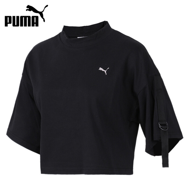 bd1029b5425 Original New Arrival 2018 PUMA En Pointe Cropped Tee Women's T-shirts short  sleeve Sportswear