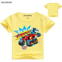 SAILEROAD 2-11Years Old Summer Boys T Shirt Kids Clothes Children Tops Summer Wear Clothing Baby Boys Girls Sports T Shirt