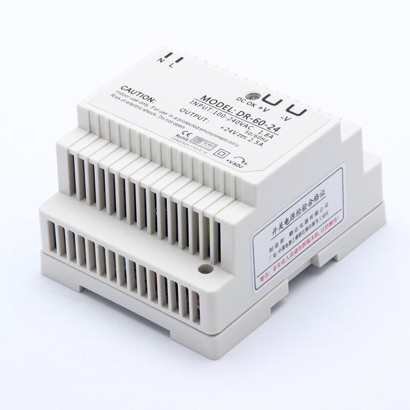 ac dc transformador modelo: DR-60-12
