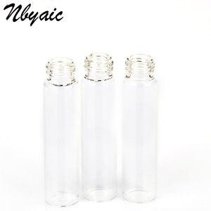 Image 5 - Nbyaic Mini botella de Perfume portátil de cristal de botella vacía, tóner embotellado, botella de Spray, nebulizador, 2ml, 3ml, 5ml, 10ml, 5 uds.
