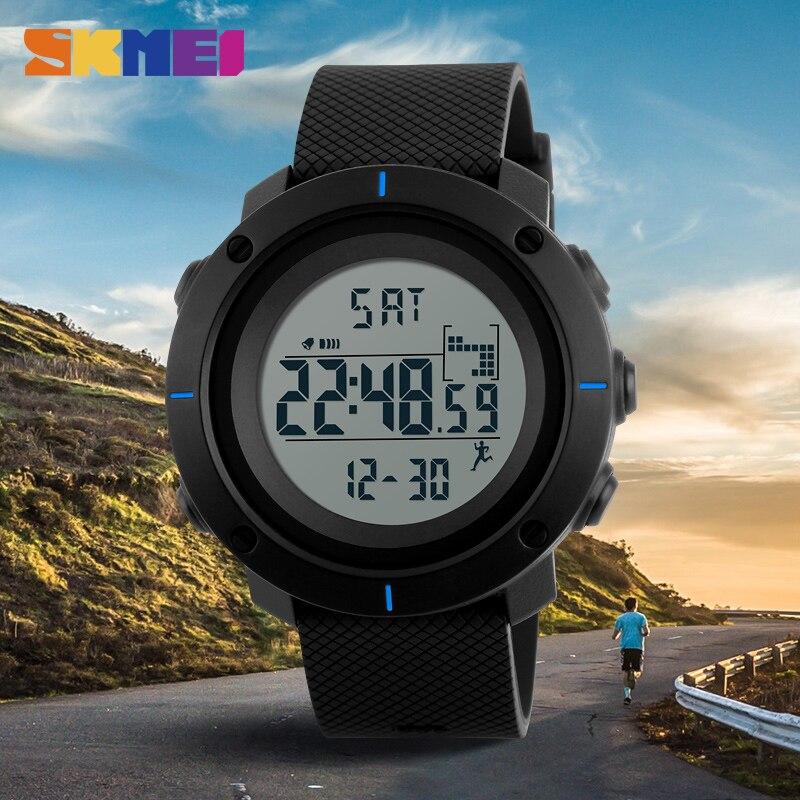 SKMEI Mode Heren Sport Horloges Digitale Man Klok Horloges Outdoor - Herenhorloges - Foto 3