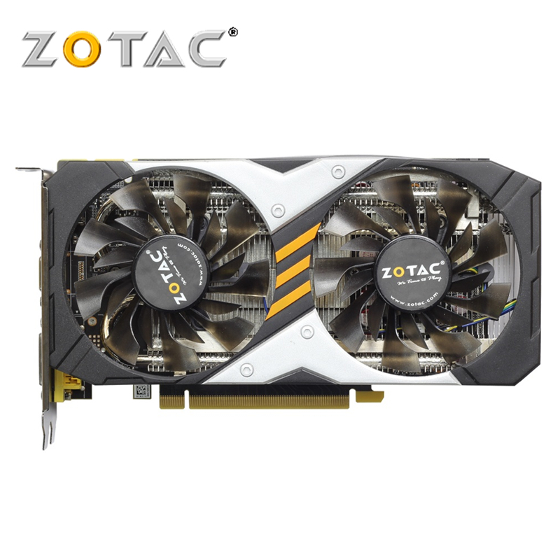 ZOTAC Video Card GTX 960 2GB 128Bit GDDR5 GM206 Graphics Cards GPU Map PCI-E For NVIDIA Original GeForce GTX960 2GD5 yeston nvidia geforce gt 730 gpu 2gb gddr5 64 bit gaming desktop computer pc video graphics cards support pci e x16 2 0