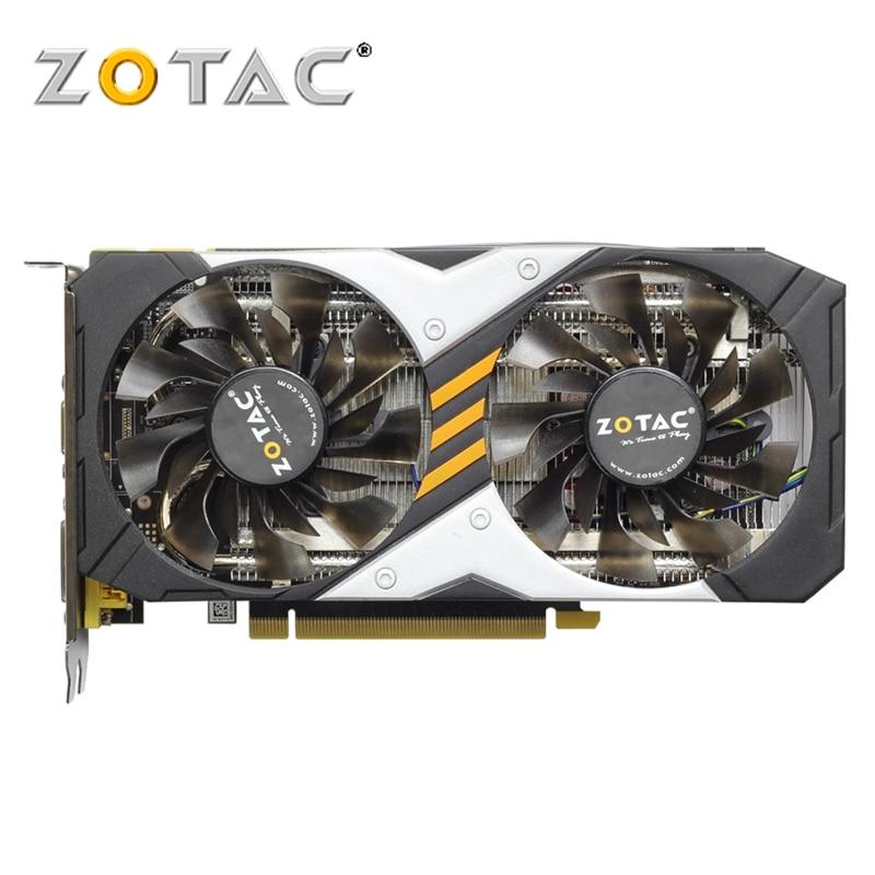 Видеокарта ZOTAC GTX 960 2 Гб 960 бит GDDR5 GM206, графические карты GPU Map PCI-E для NVIDIA Original GeForce GTX960 2GD5 GTX 2G